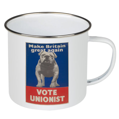 Make Britain great again Enamel Mug