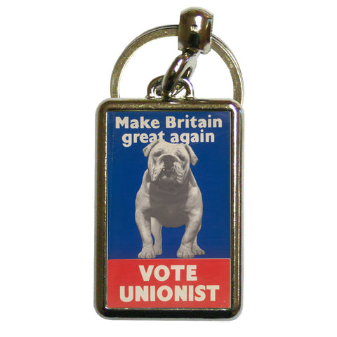 Make Britain great again Metal Keyring
