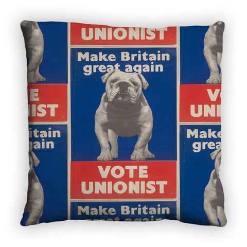 Make Britain great again Feather Cushion