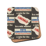 A vote for the Liberals is a vote wasted Cork Coaster