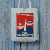 After four years of Labour pound down, prices up Long Handled Tote Bag (Lifestyle)