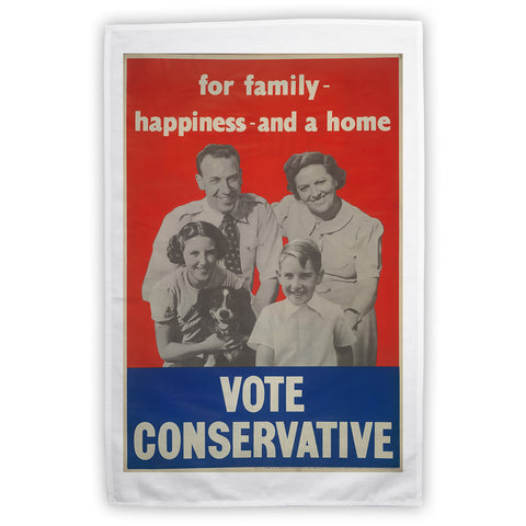 For family happiness and a home Tea Towel