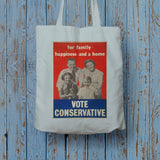 For family happiness and a home Long Handled Tote Bag (Lifestyle)