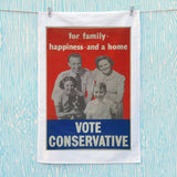 For family happiness and a home Tea Towel (Lifestyle)