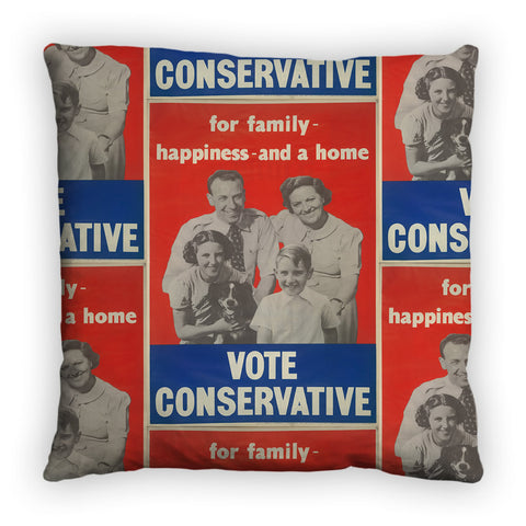For family happiness and a home Feather Cushion