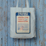 Thought for today: Socialism leads to Communism Long Handled Tote Bag (Lifestyle)