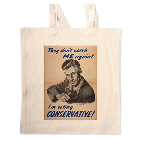They don't catch me again!  Long Handled Tote Bag