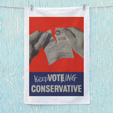 Keep voting Conservative Tea Towel (Lifestyle)