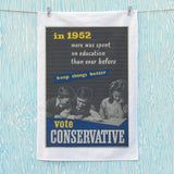 In 1952 more was spent on education than ever before Tea Towel (Lifestyle)