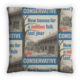 New homes a million folk last year Feather Cushion