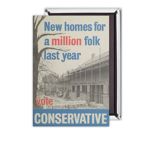 New homes a million folk last year Magnet