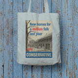 New homes a million folk last year Long Handled Tote Bag (Lifestyle)