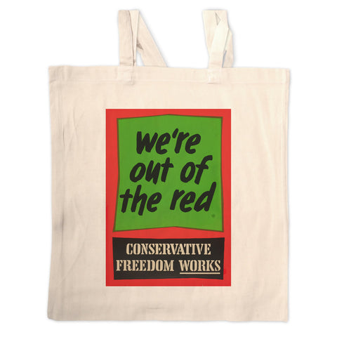 We're out of the red Long Handled Tote Bag