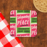 Safeguarding PEACE Cork Coaster (Lifestyle)