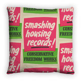 Smashing housing records! Feather Cushion