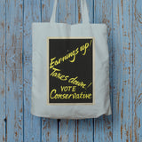 Earnings up! Long Handled Tote Bag (Lifestyle)