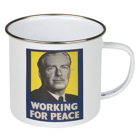Working for peace Enamel Mug