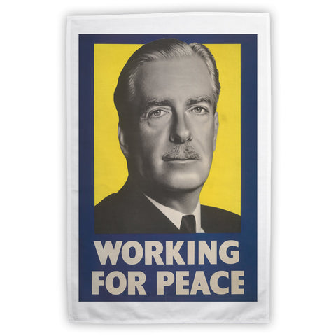 Working for peace Tea Towel