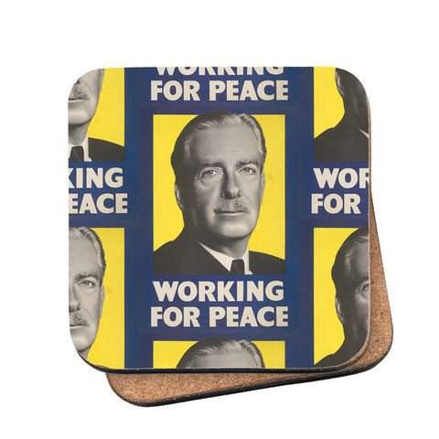 Working for peace Cork Coaster