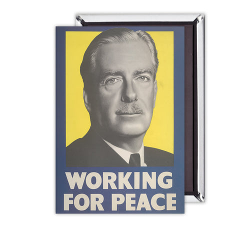 Working for peace Magnet