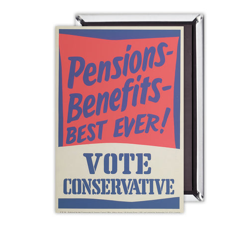 Pensions - Benefits - BEST EVER! Magnet