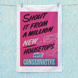 Shout it from a million new housetops! Tea Towel (Lifestyle)
