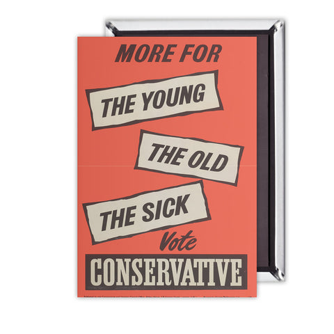 More for the young, the old, the sick Magnet