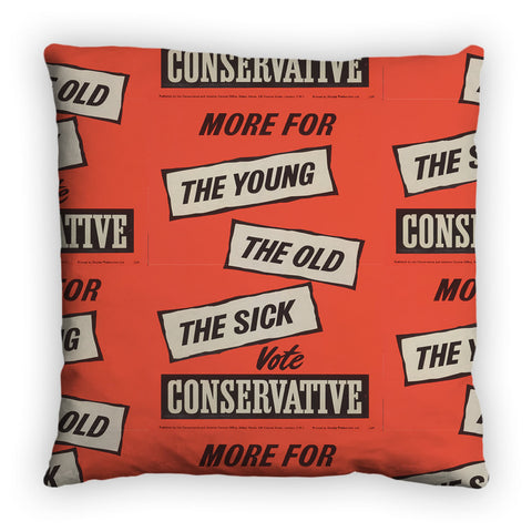 More for the young, the old, the sick Feather Cushion