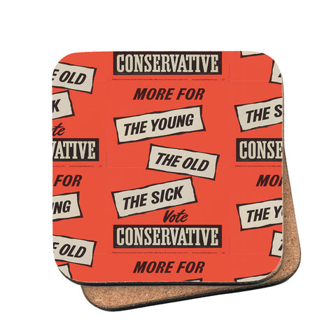 More for the young, the old, the sick Cork Coaster