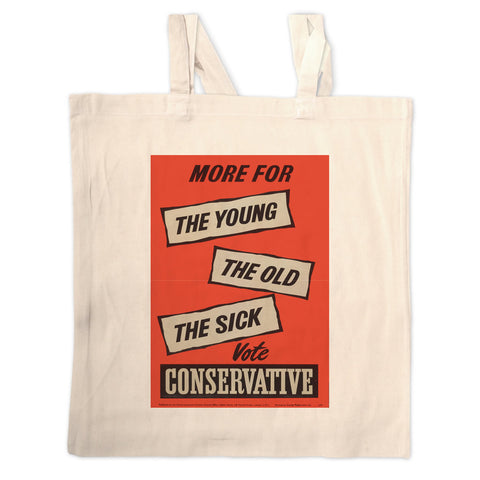 More for the young, the old, the sick Long Handled Tote Bag