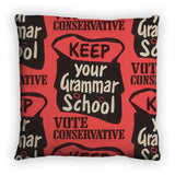 Keep your grammar school Feather Cushion