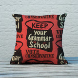 Keep your grammar school Feather Cushion (Lifestyle)
