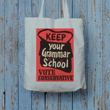 Keep your grammar school Long Handled Tote Bag (Lifestyle)
