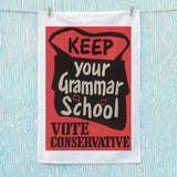 Keep your grammar school Tea Towel (Lifestyle)
