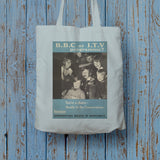 Press advertisements. BBC or ITV programme? Long Handled Tote Bag (Lifestyle)