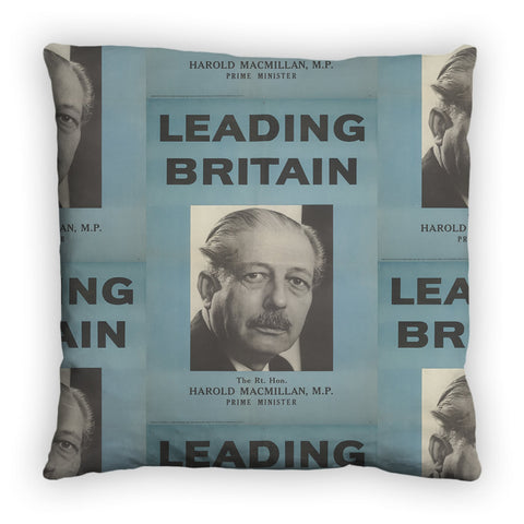 Press advertisements. Leading Britain Feather Cushion