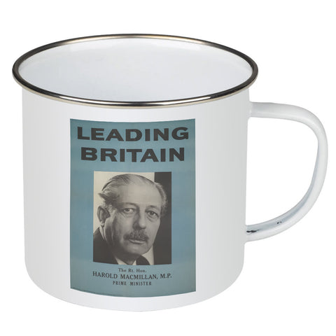 Press advertisements. Leading Britain Enamel Mug