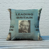Press advertisements. Leading Britain Feather Cushion (Lifestyle)