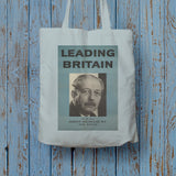 Press advertisements. Leading Britain Long Handled Tote Bag (Lifestyle)
