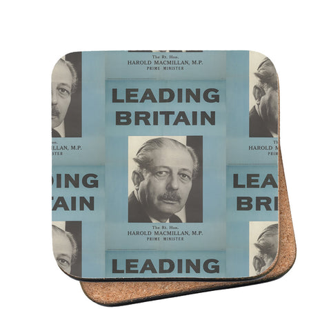 Press advertisements. Leading Britain Cork Coaster
