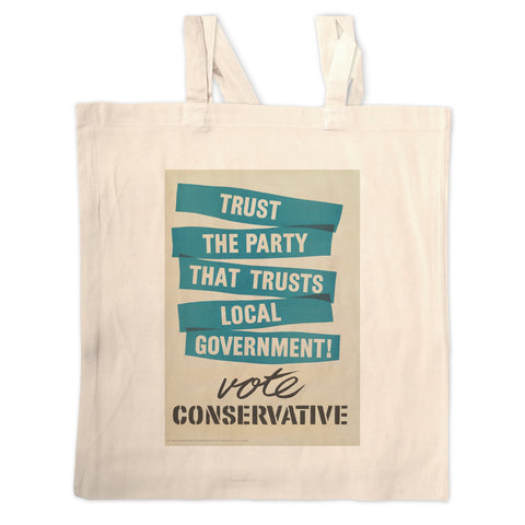 Trust the Party that trusts local government! Long Handled Tote Bag