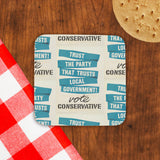 Trust the Party that trusts local government! Cork Coaster (Lifestyle)