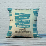 Trust the Party that trusts local government! Feather Cushion (Lifestyle)