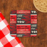Labour offers you restrictions Cork Coaster (Lifestyle)