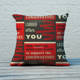 Labour offers you restrictions Feather Cushion (Lifestyle)