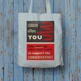 Labour offers you restrictions Long Handled Tote Bag (Lifestyle)
