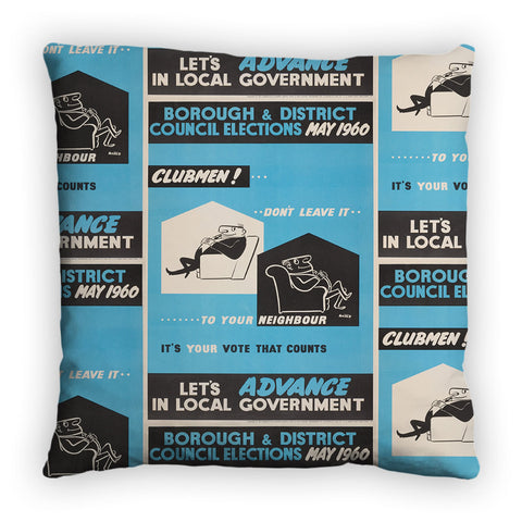Borough and district council elections Feather Cushion