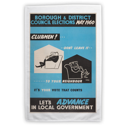 Borough and district council elections Tea Towel