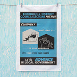 Borough and district council elections Tea Towel (Lifestyle)
