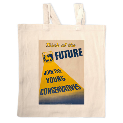 Think of the future Long Handled Tote Bag